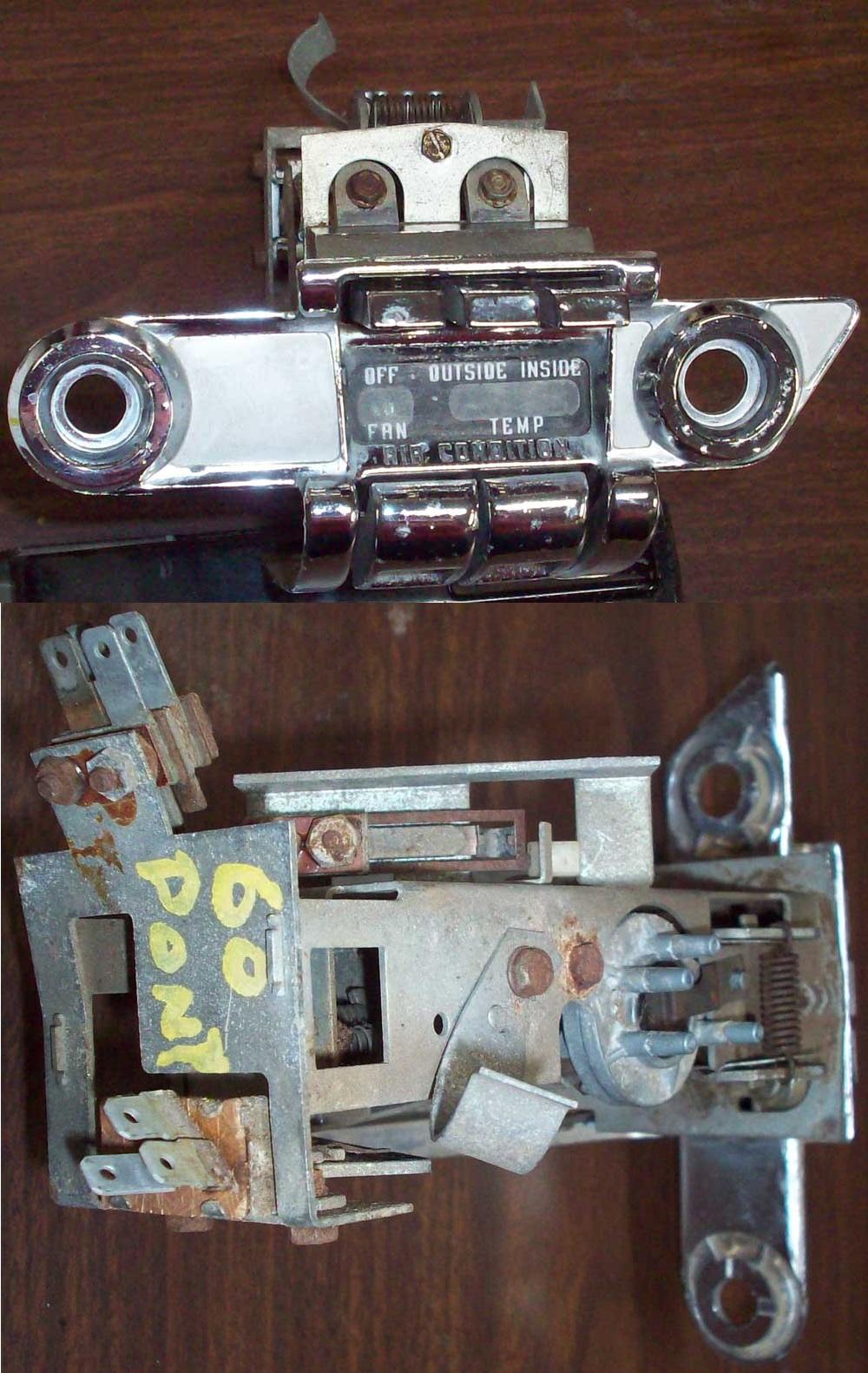 Ctc Auto Ranch Misc Parts Bel Air 57 Chevy Tailgate Diagram 1960 Pontiac Condition Control