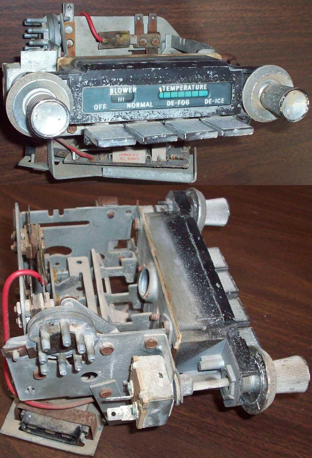 Ctc Auto Ranch Misc Parts 1964 Pontiac Grand Prix Wiring Harness 1966 Full Size Heat Control