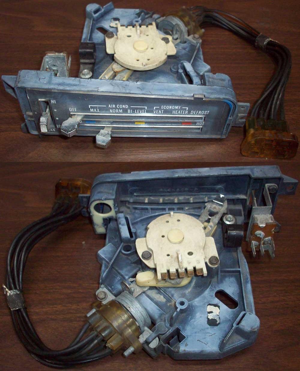 Ctc Auto Ranch Misc Parts Pontiac 2 4 Engine Diagram Ac Low Port 1976 Heat Control