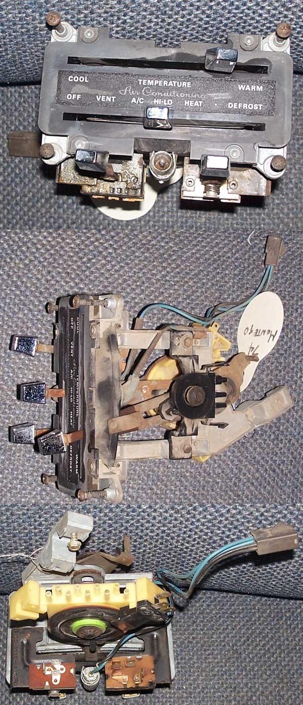 Ctc Auto Ranch Misc Parts 1971 El Dorado Headlight Wiring Harness 1972 1976 Mercury Montego Heat Ac Control