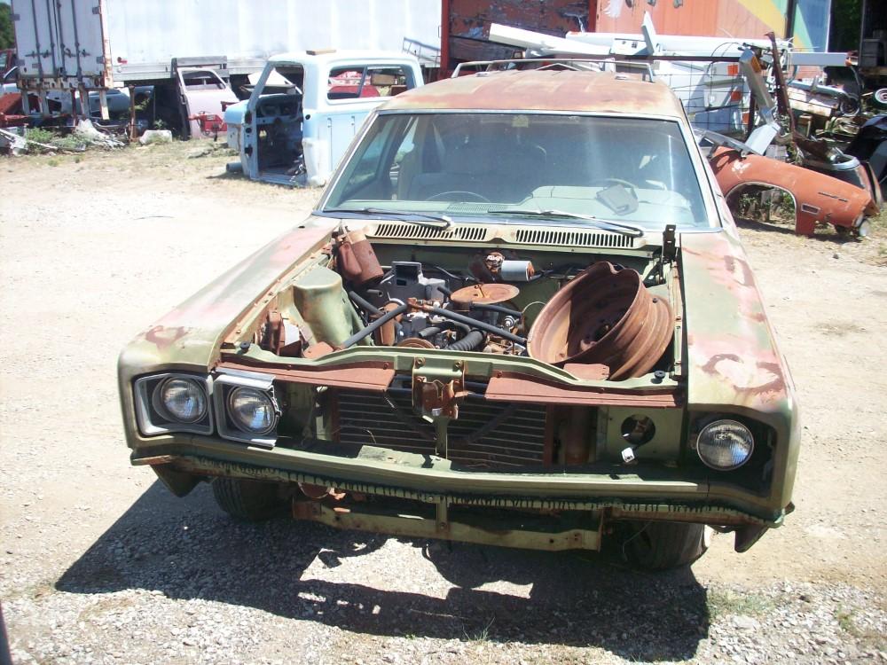 1969 Amc Rebel Sst Station Wagon Parts Car