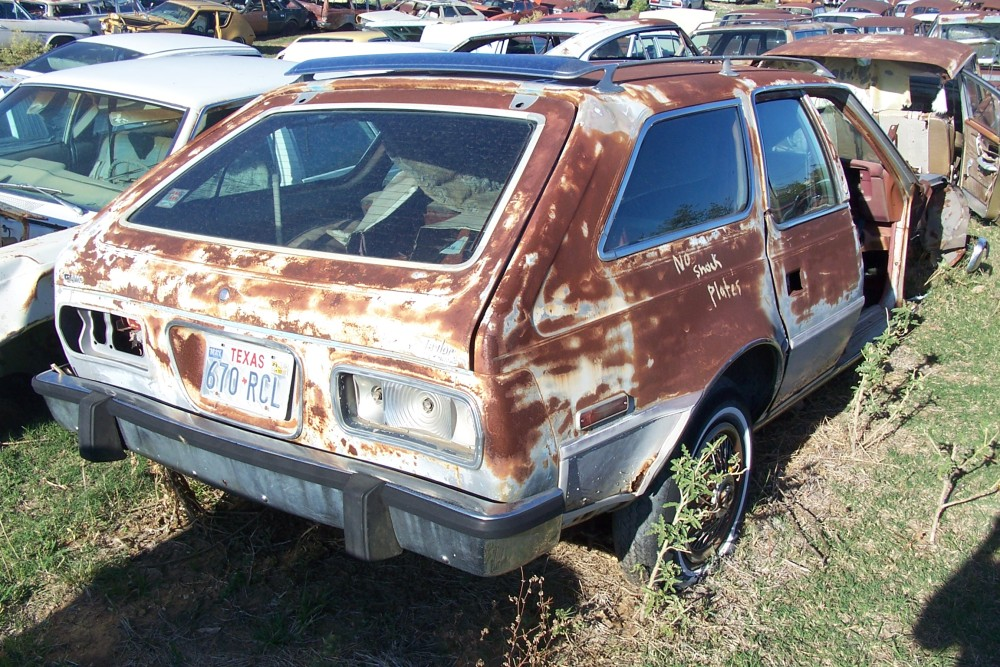1978 Amc Concord Station Wagon Parts Car