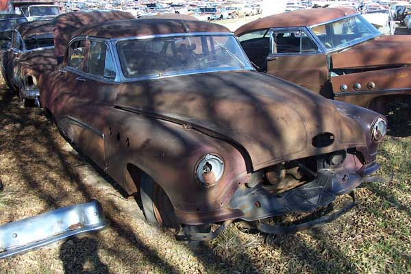 1952 Buick Super Parts Car