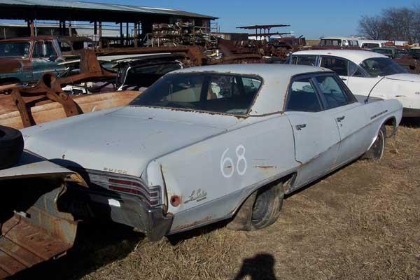 1968 Buick LeSabre Parts Car 1