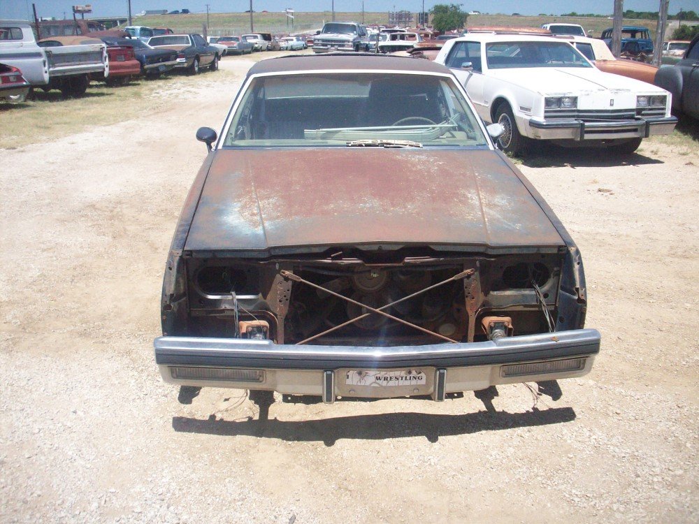 1981 Buick Regal Parts Car 3
