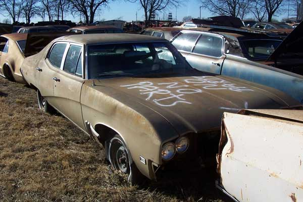 1969 Buick Skylark Convertible Parts Car
