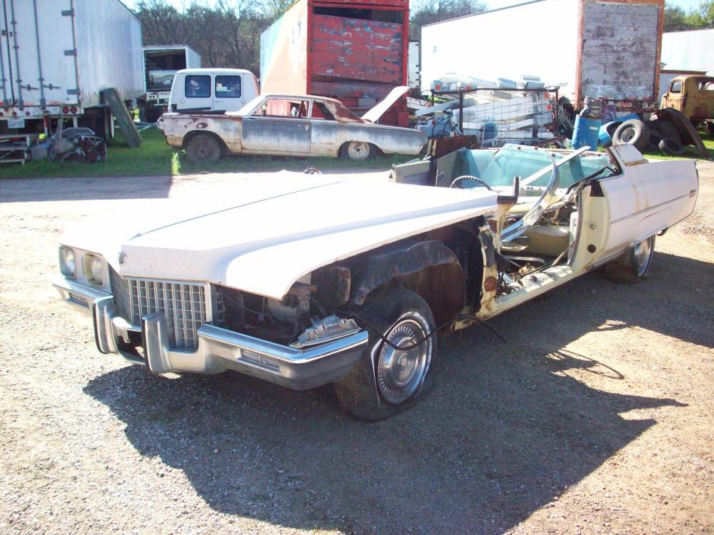 1971 Cadillac Coupe Deville Parts Car 2
