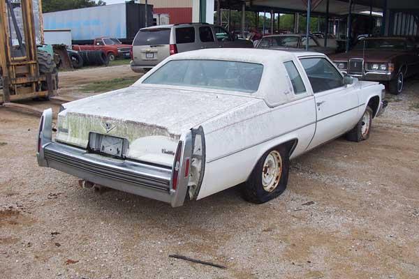 1979 Cadillac Coupe DeVille Parts Car 1