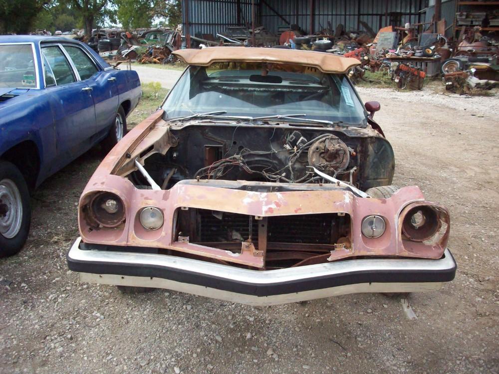 Camaro Parts Car
