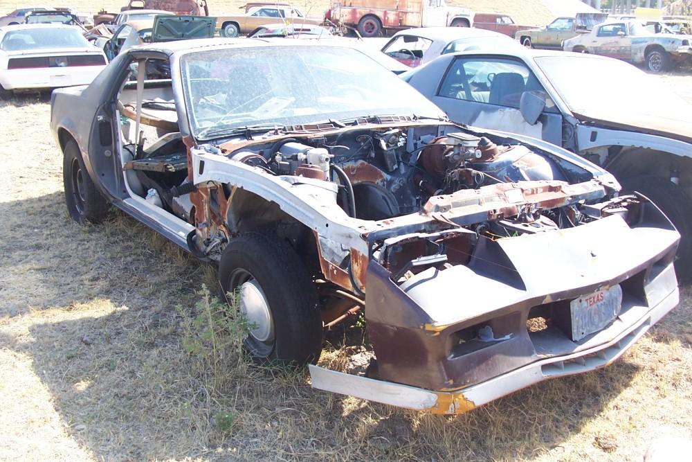 1984 Chevrolet Camaro Parts Car 1