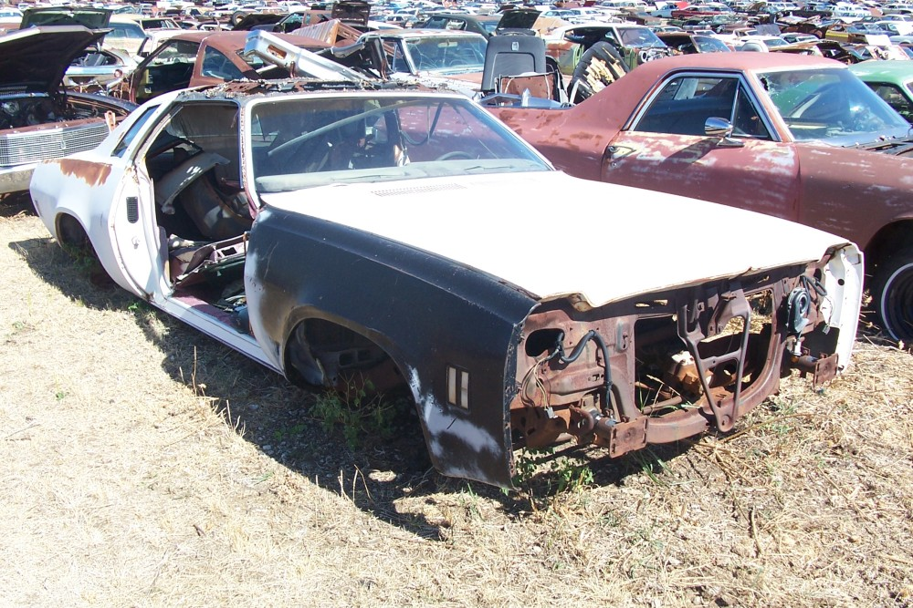 1974 Chevrolet Chevelle Malibu Laguna Parts Car