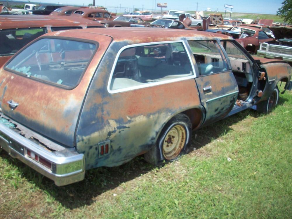 1975 Chevrolet Malibu Wagon Parts Car