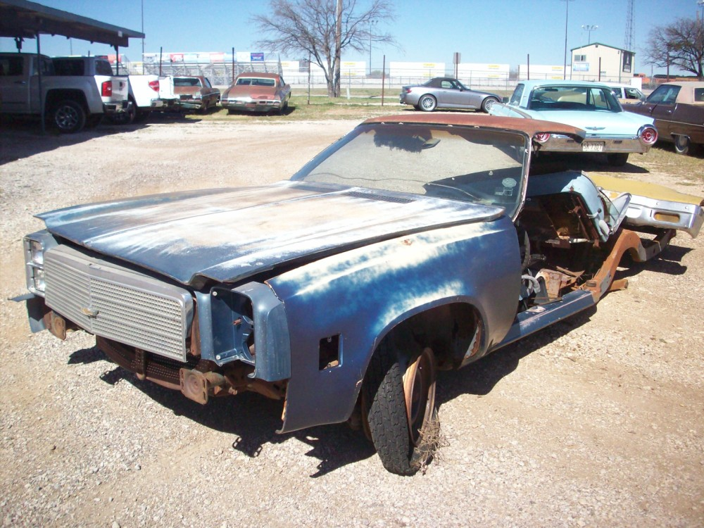 1977 Chevrolet El Camino Parts Car 2