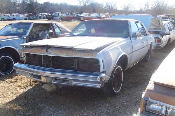 1978 Chevrolet Impala Parts Car 1