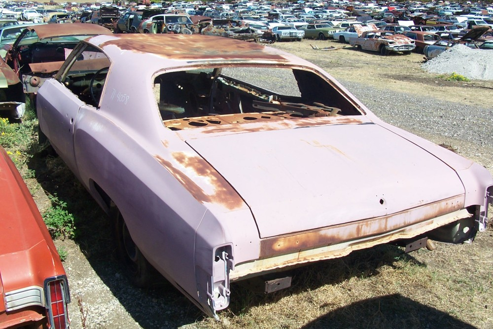 1971 Chevrolet Monte Carlo Parts Car