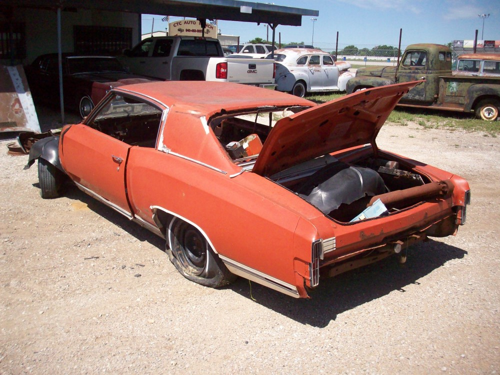 1972 Chevrolet Monte Carlo Parts Car 1