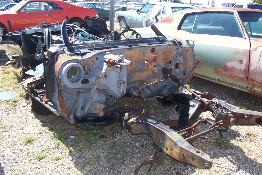 1972 Chevrolet Monte Carlo Parts Car 3