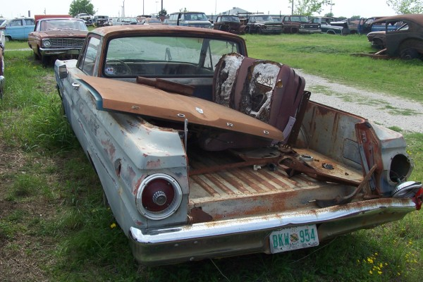 1964 Ford Falcon Ranchero Parts