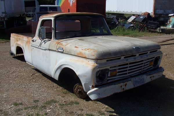 1966 ford pu parts truck