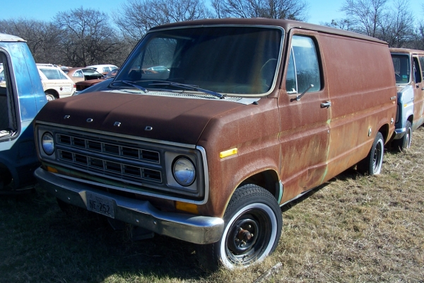 1977 Ford Econoline Van Sale