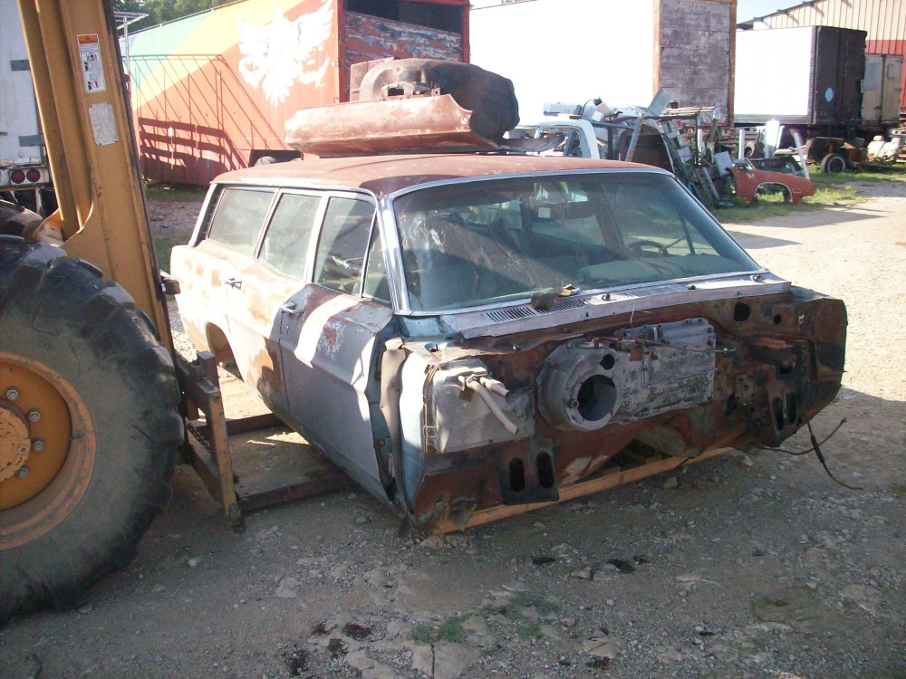 1967 Ford Ranch Wagon Parts Car