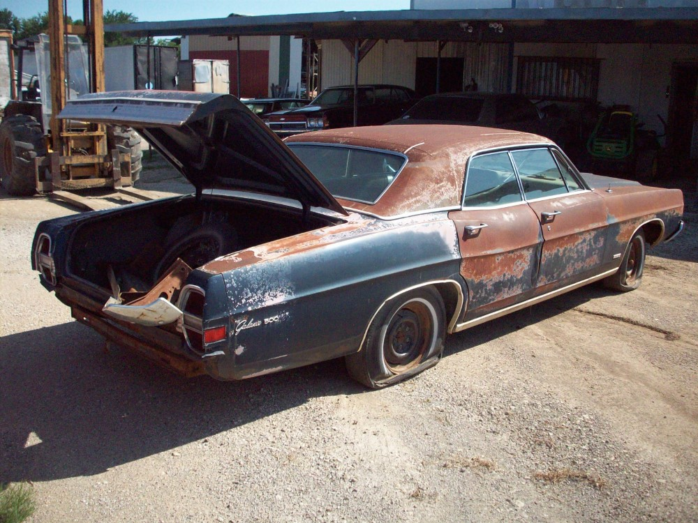 Ford Car Parts 1968 Ford Galaxie 500 Parts Car 4