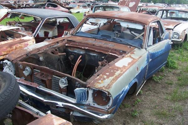 1966 Ford Mustang Parts Car