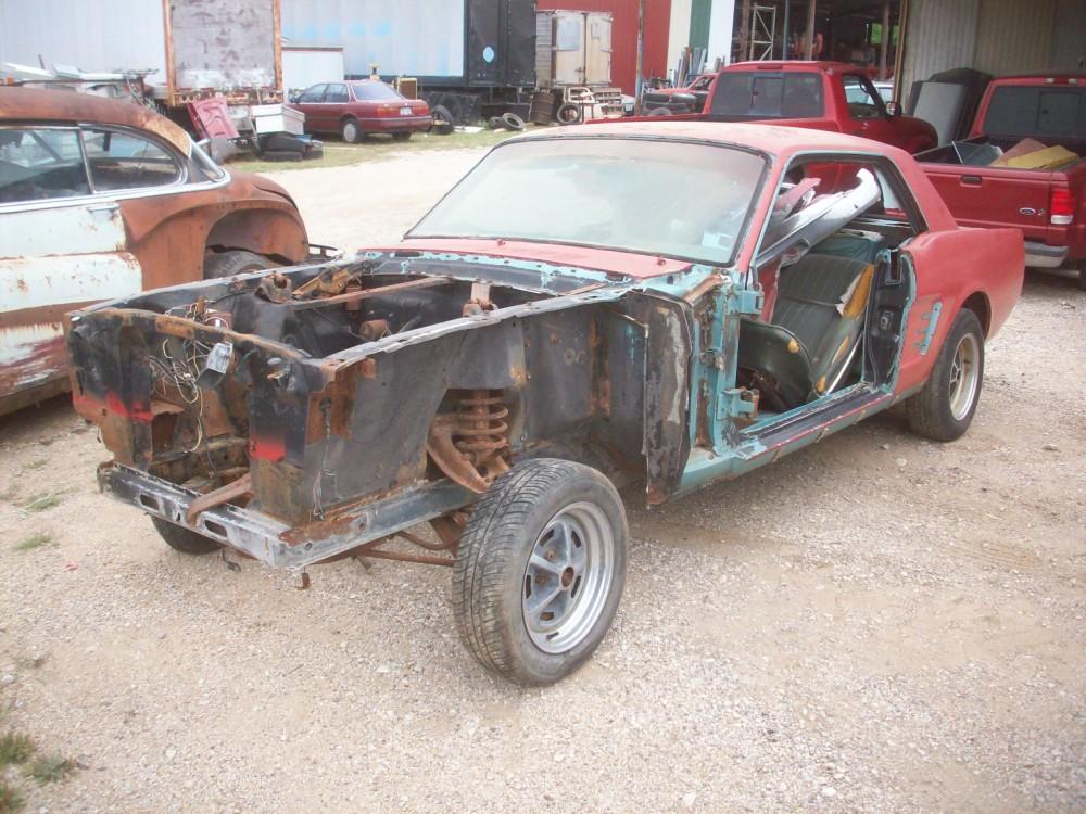 1966 Mustang Parts >> 1966 Ford Mustang Parts Car 8