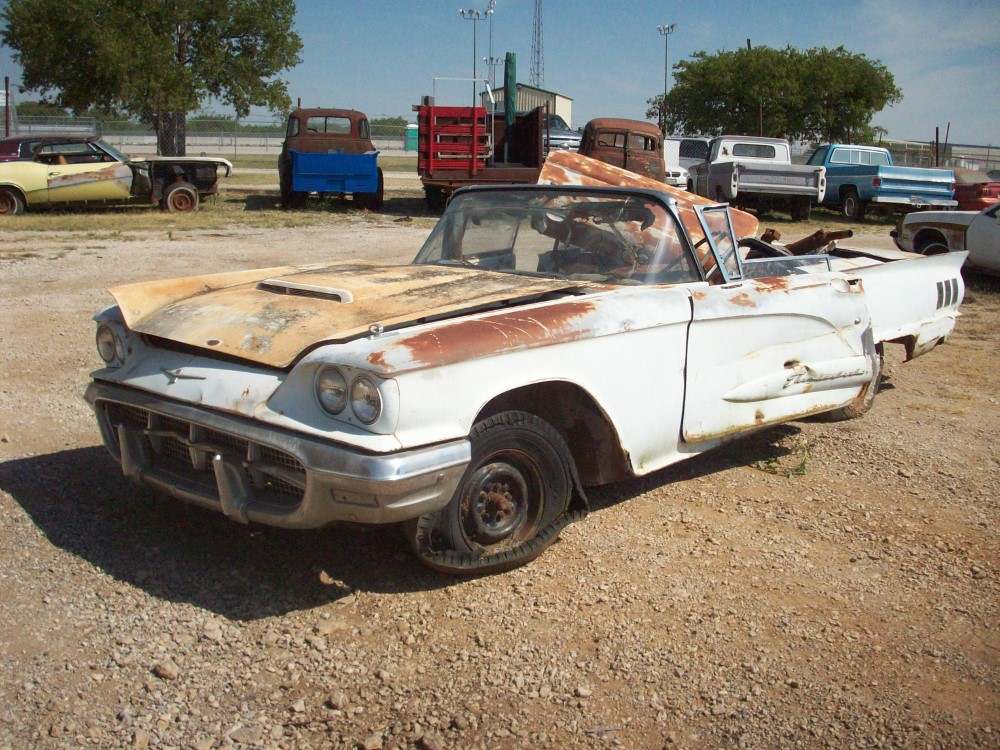 1960 ford thunderbird restoration parts