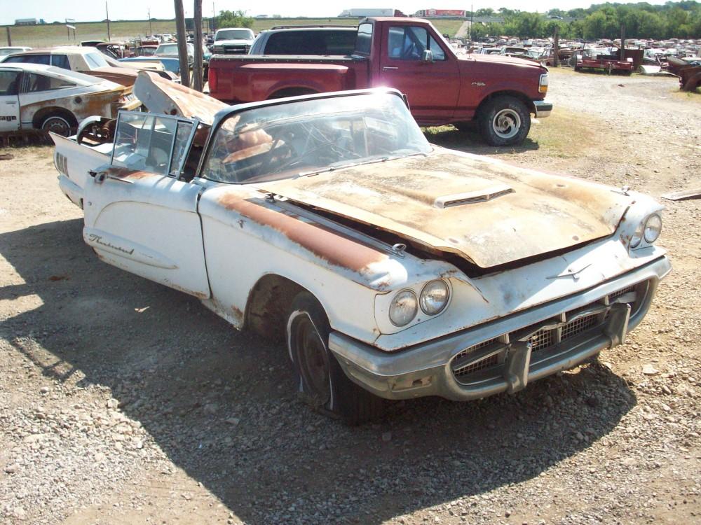 1960 ford thunderbird restoration parts