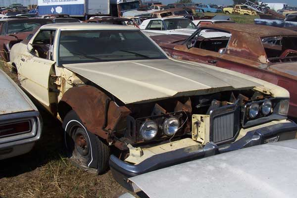 Mercury Cougar Parts Car