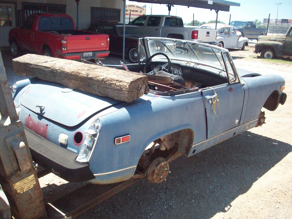 Pretty mg midget car parts