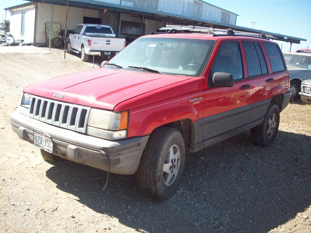 1994 Jeep Grand Cherokee Parts Car.