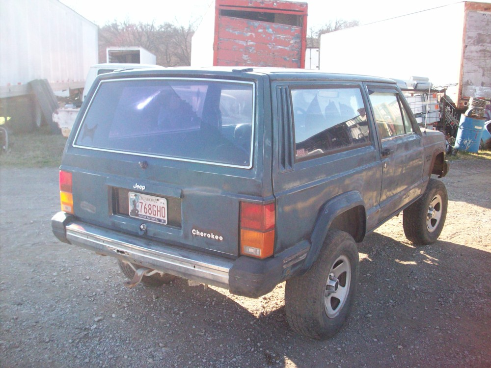 Ranch Jeep >> 1995 Jeep Cherokee Parts Car
