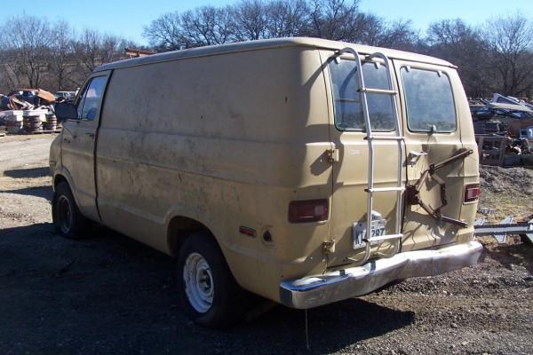 1974 - 1978 Dodge Tradesman 100 Parts Van