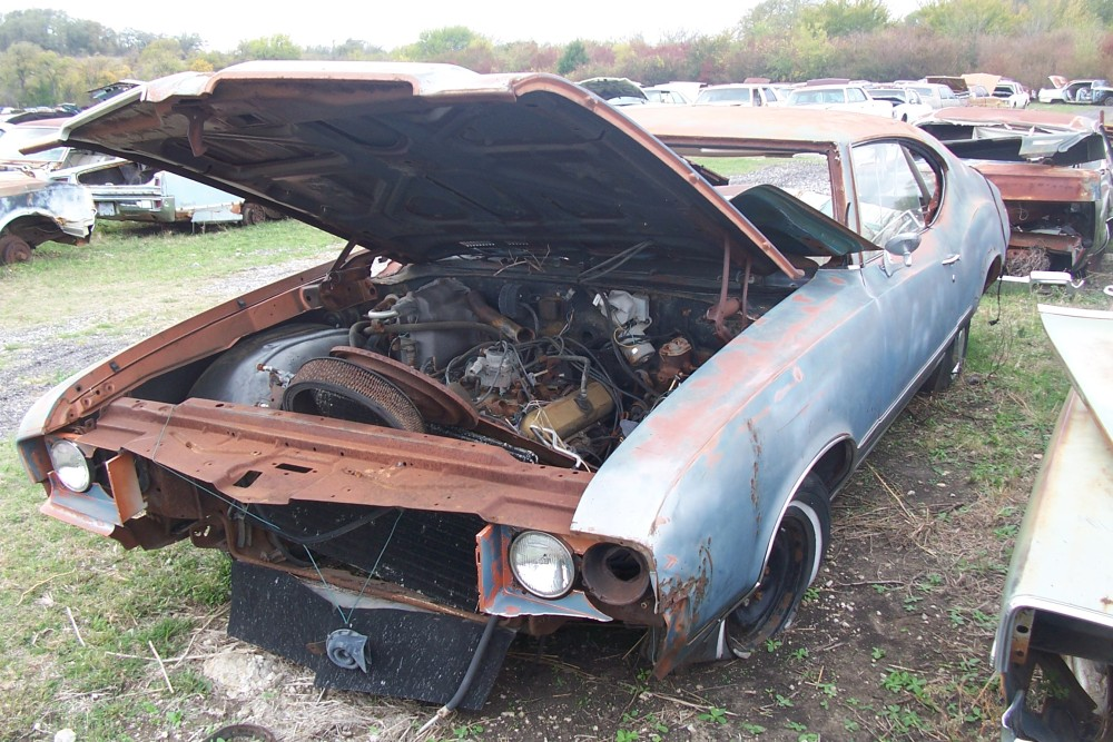 1971 Oldsmobile Cutlass S Parts Car