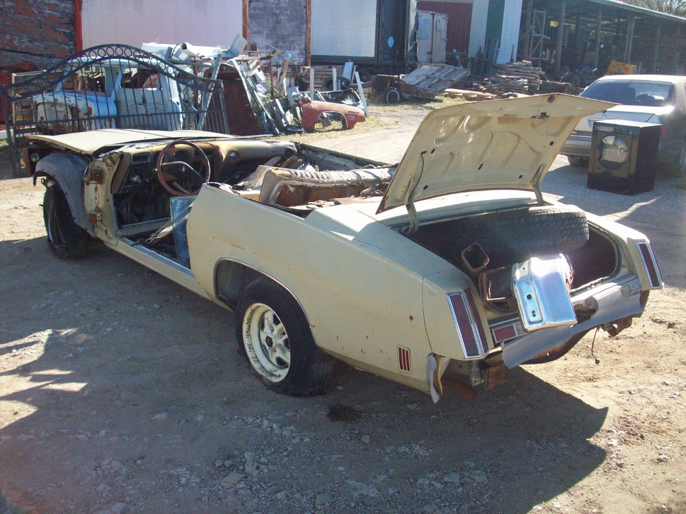 1974 oldsmobile cutlass salon parts car 1 for 1974 cutlass salon