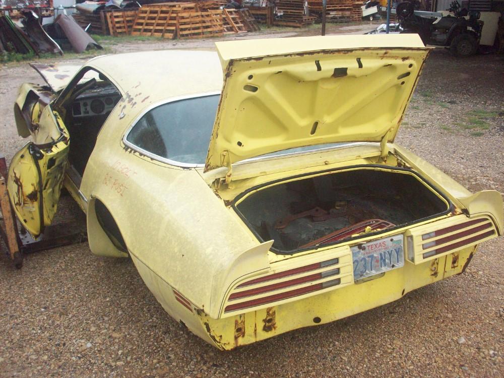 1976 Pontiac Trans Am Parts Car 2
