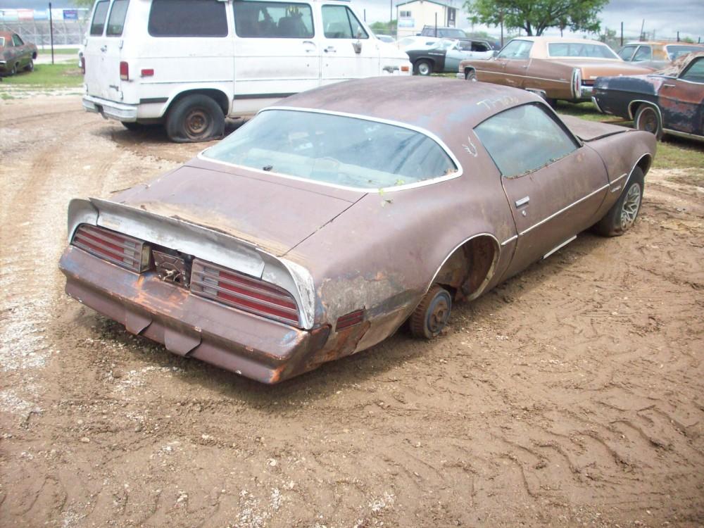 Pontiac Trans Am Car Parts