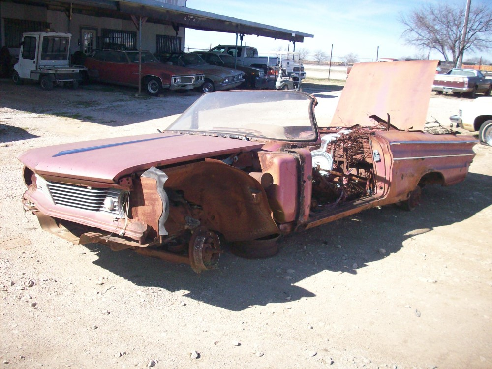 1960 Pontiac Catalina Convertible Parts Car 2