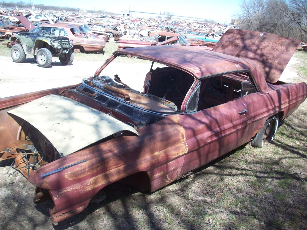 1962 Pontiac Catalina Parts Car 4