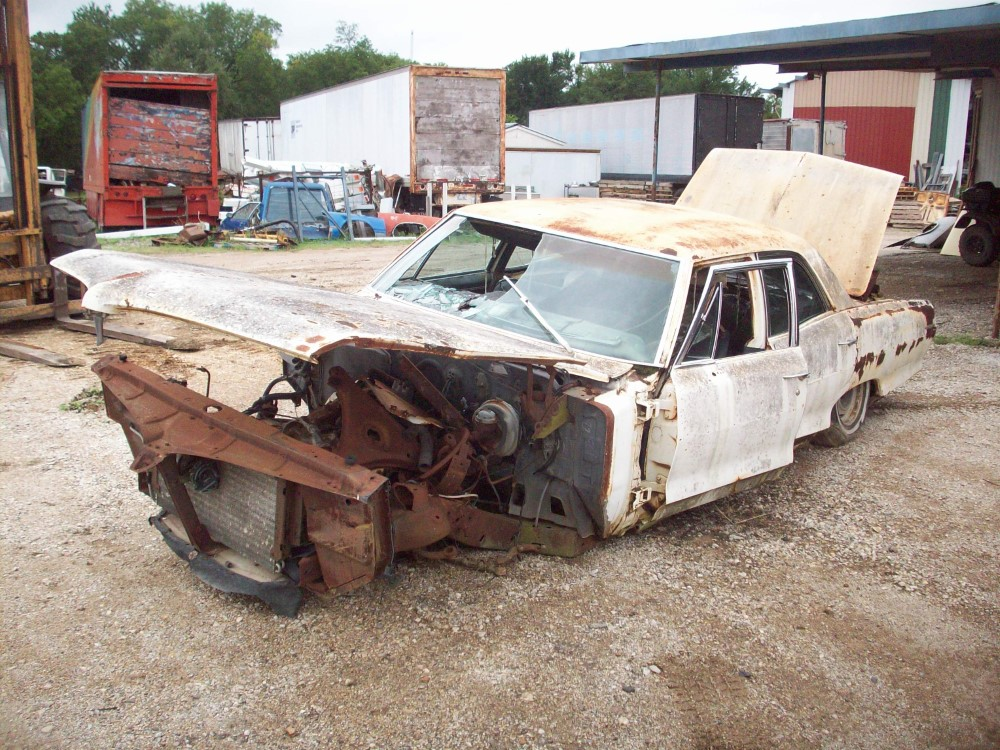 1966 Pontiac Catalina Parts Car 3