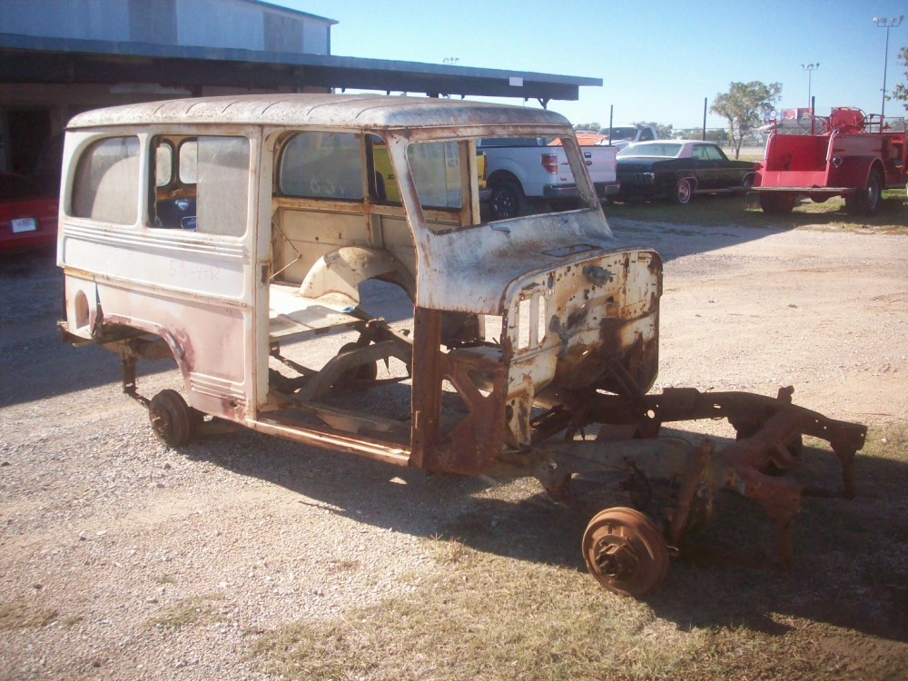 1959 Willys Station Station Wagon Parts Car