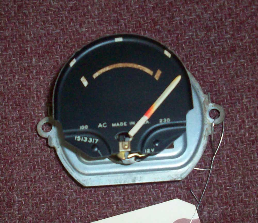 Ctc Auto Ranch Gm Gauges 1954 Chevy Truck Gauge Cluster 1957 Chevrolet Temperature Picture 1 2