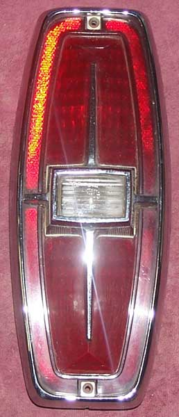Ford Tail Light Assembly on 1966 Ford Falcon Wagon